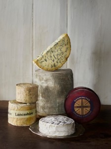 Assorted Christmas Cheeses