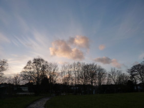 Clouds 16th January 2011