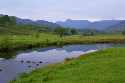 Langdale Pike Reflections