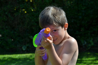 Water Fight!