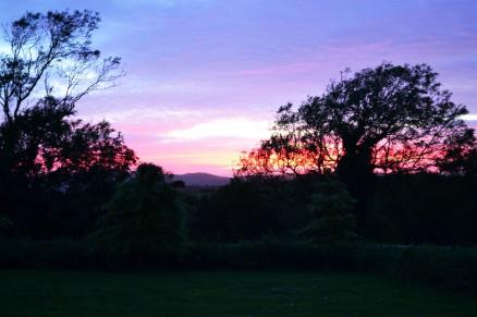 Sunset in Dorset