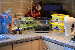 Before the cake…