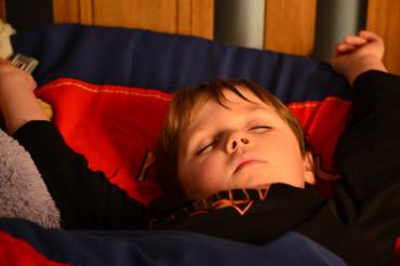 Sleeping Superman