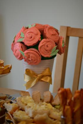 Bouquet Celebration Cake